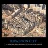 KOWLOON CITY – La ciudad mas densa del mundo: 1.2 millones de hab. por km2