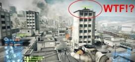 ¿Mortal hacia delante con un tanque para llegar a lo alto de un edificio? Con 'Battlefield 3' es posible. Sencillamente acojonante