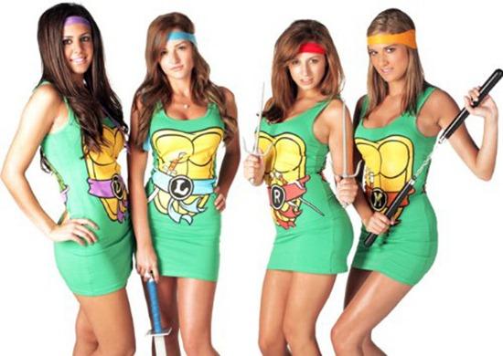 03-Mini-vestidos-sexys-de-los-Power-Rangers-y-las-Tortugas-Ninja-para-tu-novia-geek