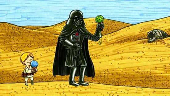 07-Qué-pasaría-si-Darth-Vader-fuera-un-buen-padre-Humor