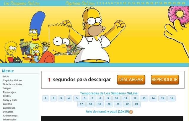 ver los simpsons online hd latino