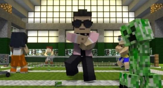 Minecraft-Style-Una-parodia-de-Gangnam-Style-versión-Minecraft-Video