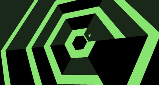 Super Hexagon iOS
